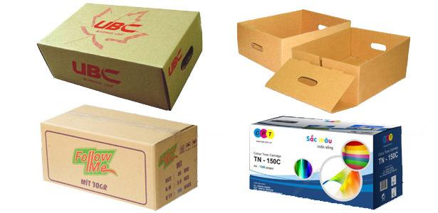 thùng carton in offset tại cty bao bì bình dương