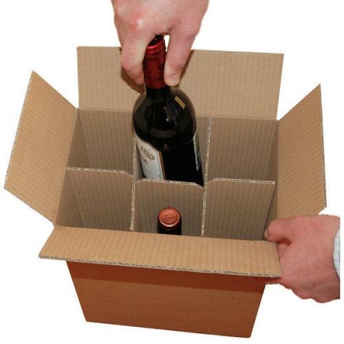 Đẹp sang trọng và an toàn với thùng carton đựng rượu